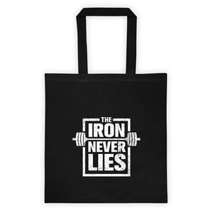The Iron Never Lies Tote bag