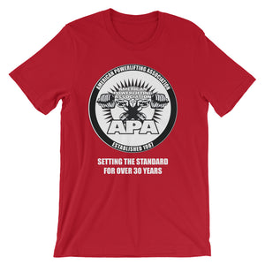 APA Setting the Standard for Over 30 Years - Short-Sleeve Unisex T-Shirt