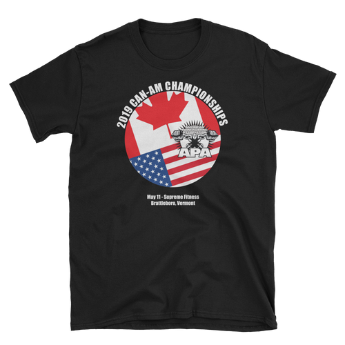 2019 Can-Am International Meet T-Shirt