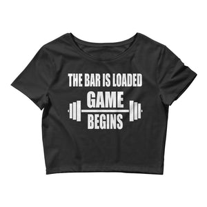 Game Begins Women's Crop Tee