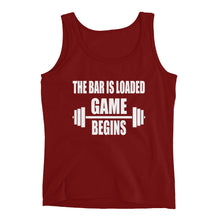 Game Begins Ladies' Tank
