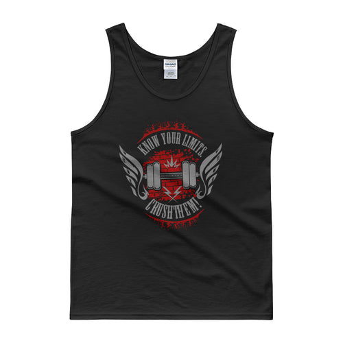 Know Your Limits And Crush Them Tank top