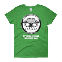 APA - Setting the Standards for over 30 year Women's short sleeve t-shirt