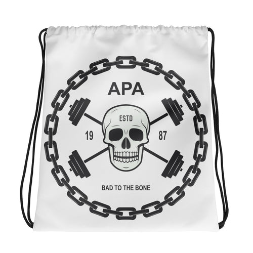 APA Bad To The Bone - Gym Drawstring bag