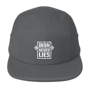 The Iron Never Lies - 5 Panel Camper Cap