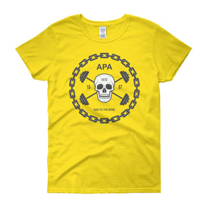 APA Bad To The Bone Women's short sleeve t-shirt