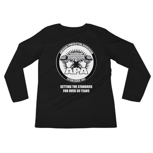 APA - Setting the Standards for over 30 year Ladies' Long Sleeve T-Shirt