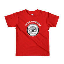 Future Powerlifter Short sleeve kids t-shirt