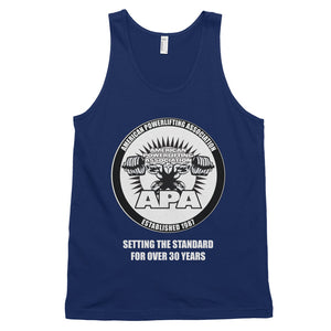 APA Setting the Standard for Over 30 Years tank top (unisex)