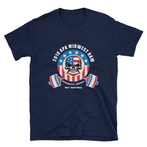 2018 Midwest Raw Championships Unisex T-Shirt
