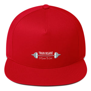 Train Insane Or Remain The Same - Flat Bill Cap