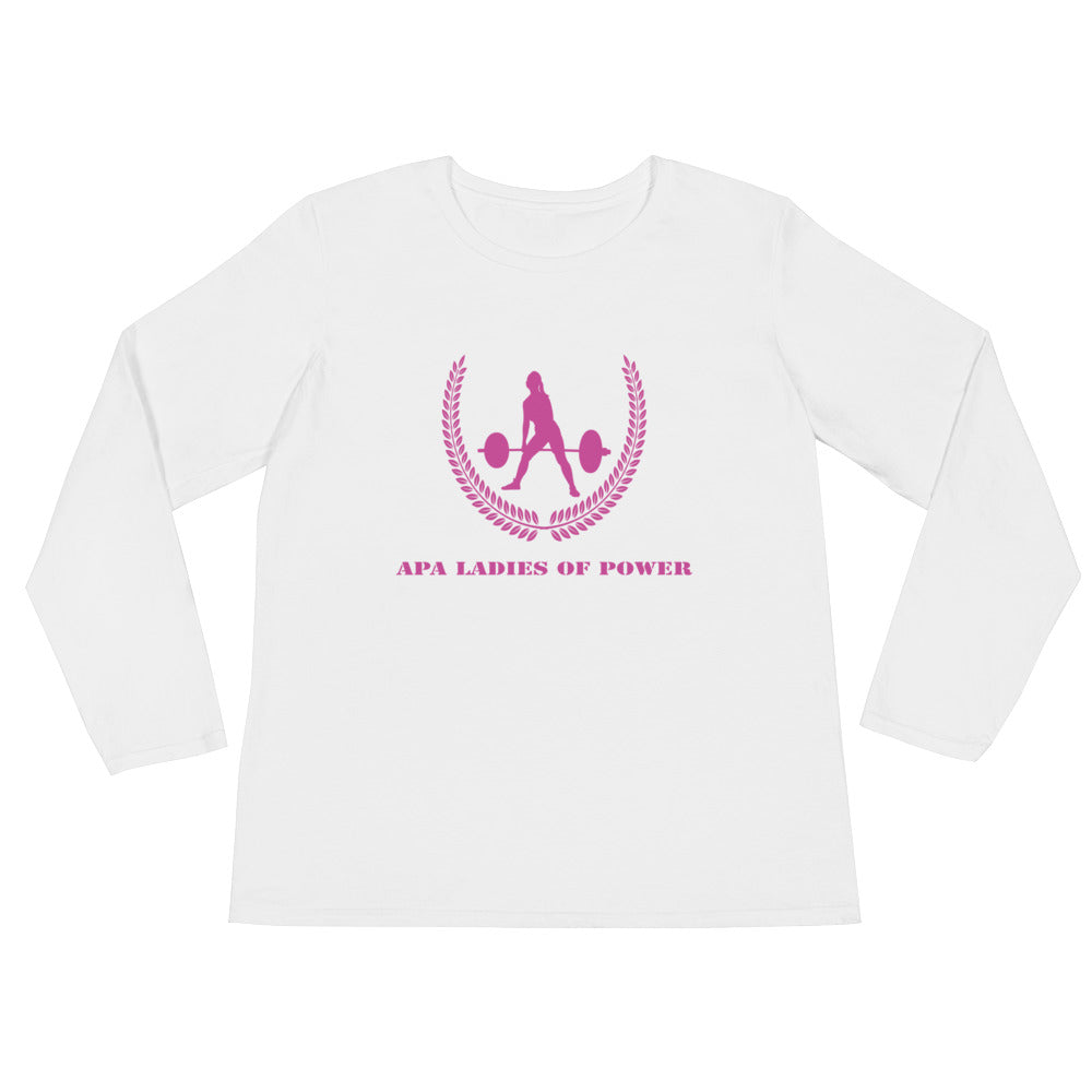 APA Ladies Of Power - Ladies' Long Sleeve T-Shirt