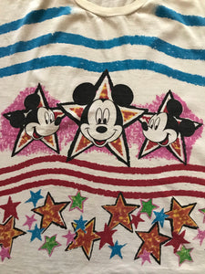 Mickey Stars and Stripes AOP Tee