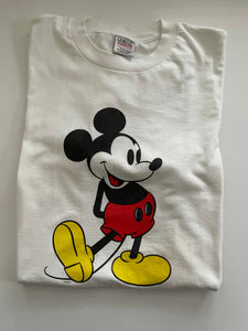 Mickey Stands Tee (White)
