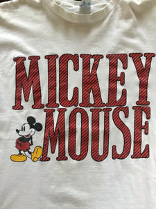 Mickey Mouse Spell Out Tee