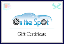 Gift Certificates For Holidays, Birthdays, Graduations, and more.