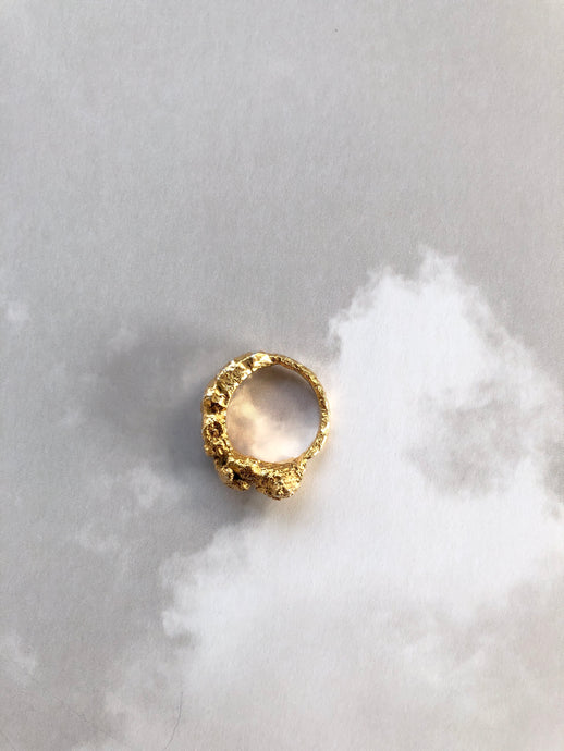 Gianna gold ring