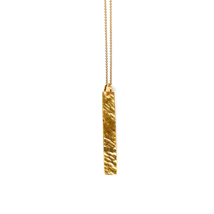 Lungo gold necklace