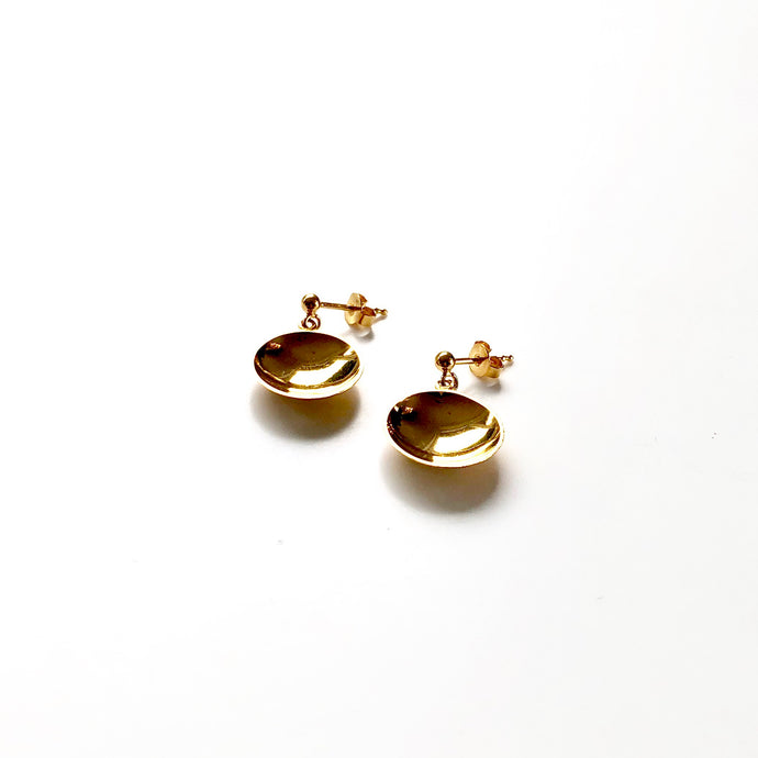 Bowl short earrings