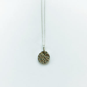 Tassi small silver necklace