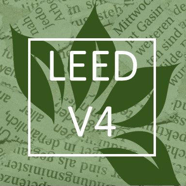 LEED V4 USGBC Sustainability of ceramic, porcelain glass and natural stone products