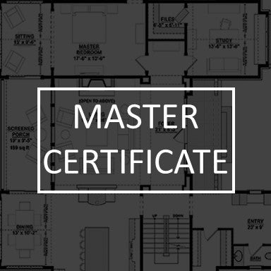 Master Grade Certificats for Division 9 Finish Schedule and 3 Part CSI 9300