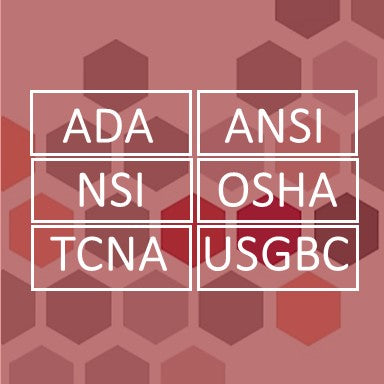 ADA NSI ANSI OSHA TCNA USGBC Industry Standards ISO Updates Tile and Natural Stone