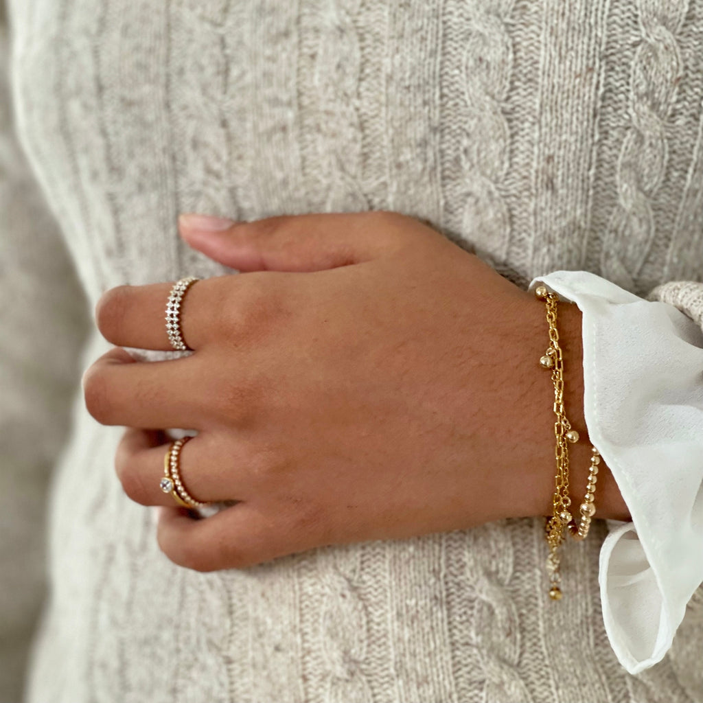 BLISSFUL | GOLD FILLED BRACELET