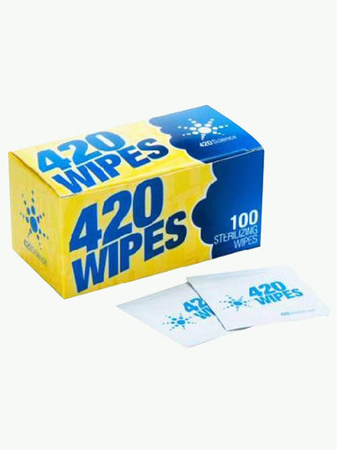 420 Wipes | Cleans Vaporisers, Bongs, Pipes, etc.