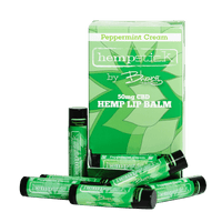 CBD Lip Balm peppermint cream uk hemp oil