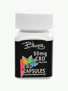 1500 MG CBD Capsules UK | 30 x 50mg Capsules | High Strength