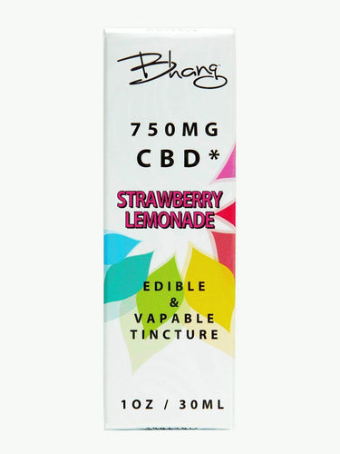 Strawberry Lemonade CBD Tincture | BHANG | 750mg CBD