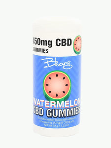 15mg Watermelon CBD Gummies UK | 30 Count