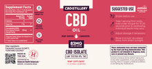 2500MG CBD OIL UK | THC-FREE