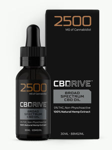 2500mg Broad Spectrum CBD Oil UK | Sports Range