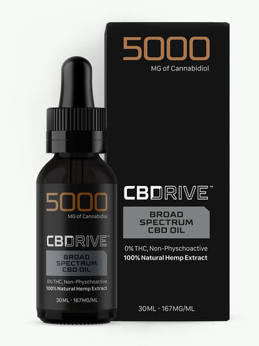 5000mg Broad Spectrum CBD Oil UK | Sports Range