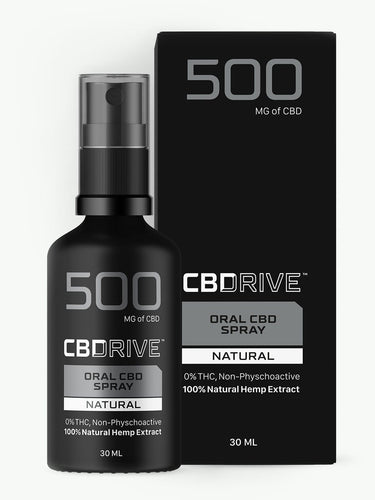 500mg CBD Oil Spray UK | Sports | Natural