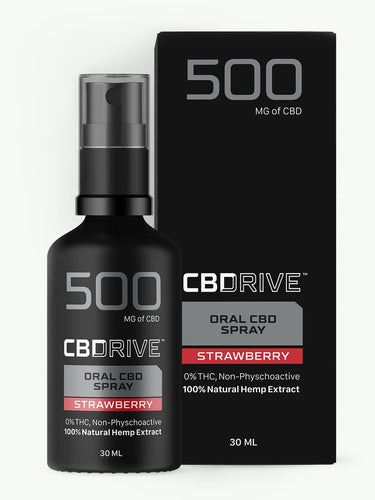 500mg CBD Oil Spray UK | Sports | Strawberry