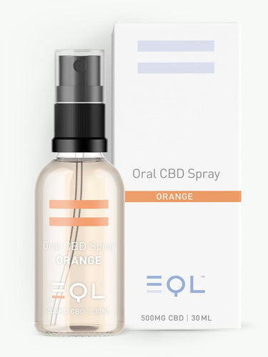 500mg Broad Spectrum CBD Oil Spray UK | Orange