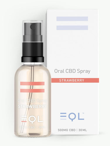 500mg Broad Spectrum CBD Oil Spray UK | Strawberry