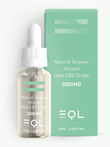 2500mg Broad Spectrum CBD Oil UK | Cannabis Terpene Infused