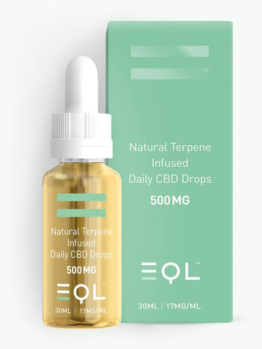 500mg Broad Spectrum CBD Oil UK | Cannabis Terpene Infused