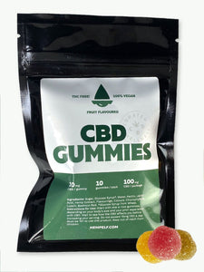 10mg CBD Vegan Gummies | 10 pack