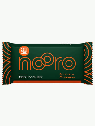 Nooro Banana + Cinnamon CBD Bar UK