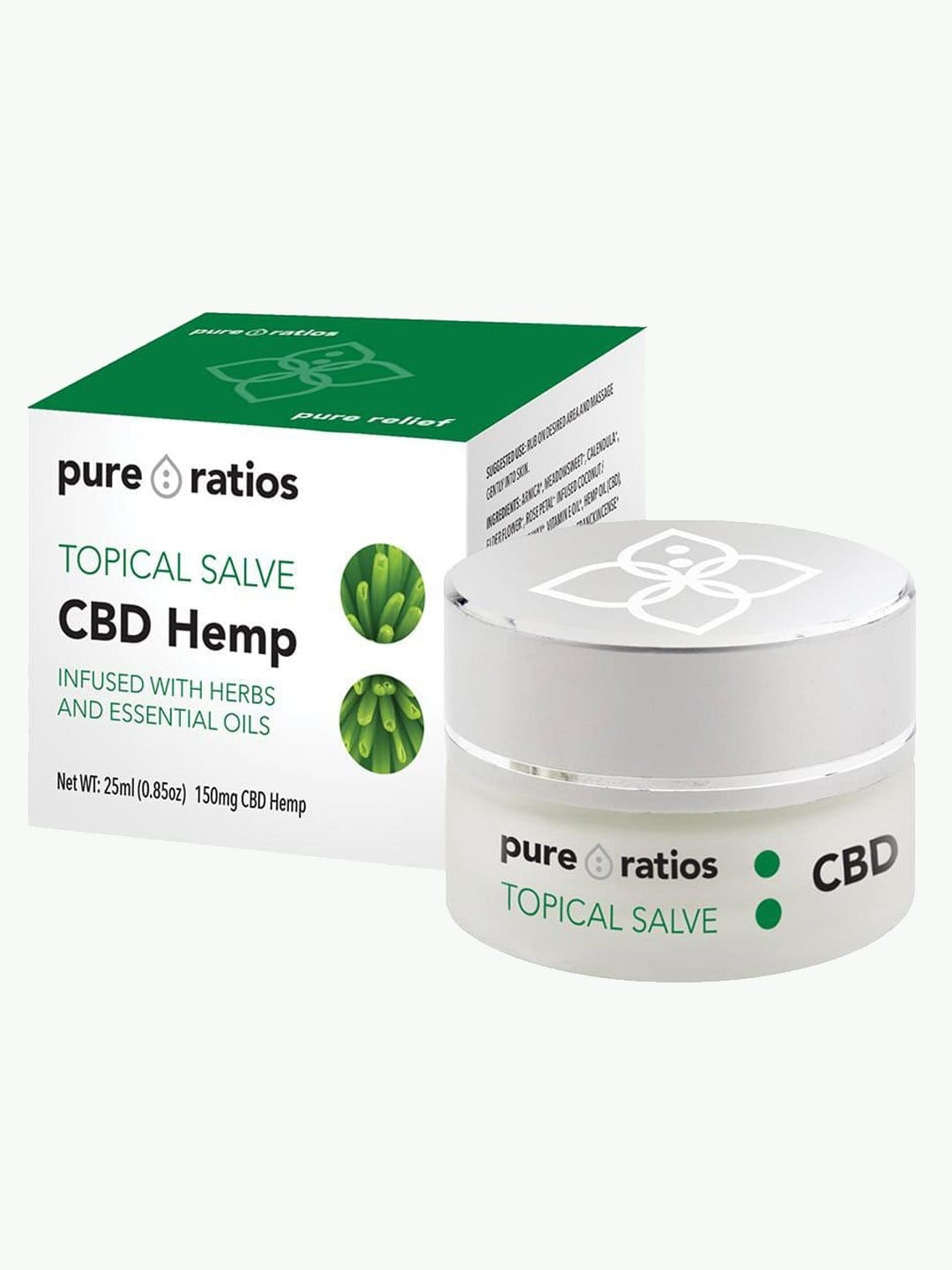CBD Topical Salve UK | 150mg CBD | Pure Ratios