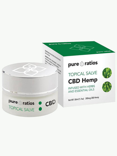 CBD Topical Salve UK | 300mg CBD | Pure Ratios
