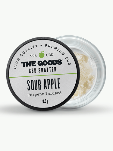 SOUR APPLE CBD ISOLATE SHATTER UK
