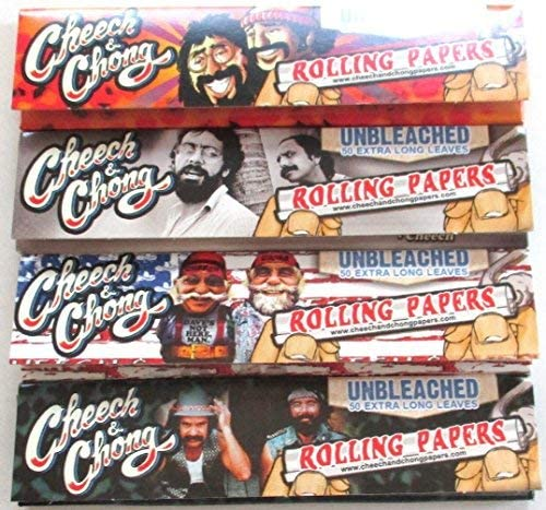 CHEECH & CHONG UNBLEACHED KING SIZE PAPERS
