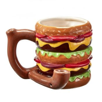 Cheeseburger Mug Pipe