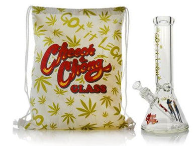 Limited Edition Cheech & Chong™ Glass Commemorative Water Pipe